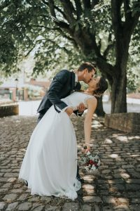 Hochzeitsreportage - Anna und Andreas - Burg Homburg